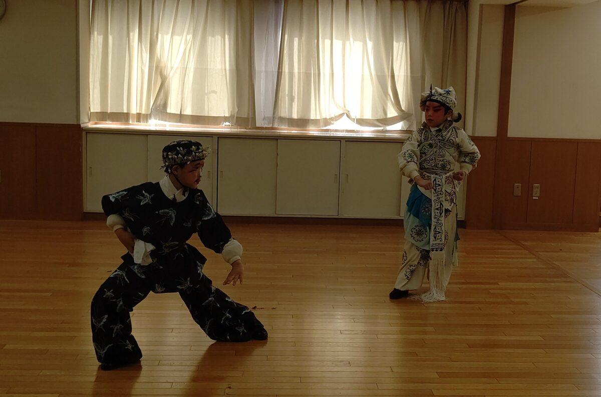 中国の伝統芸能「京劇」で福祉支援!